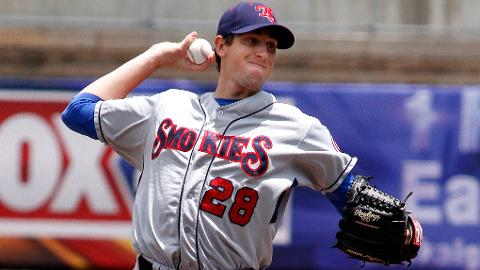 Kyle Hendricks is 7-2 with a 2.07 ERA in 13 starts for the Smokies.