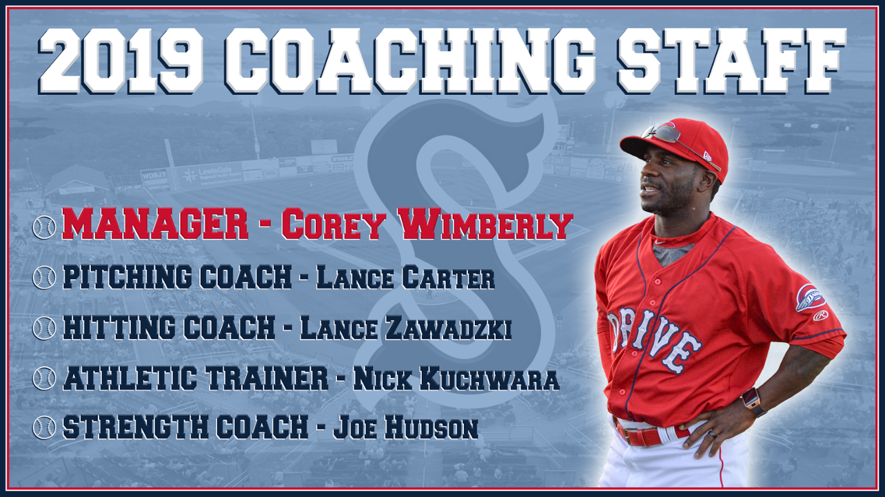 Red Sox Release 2019 Coaching Staff
