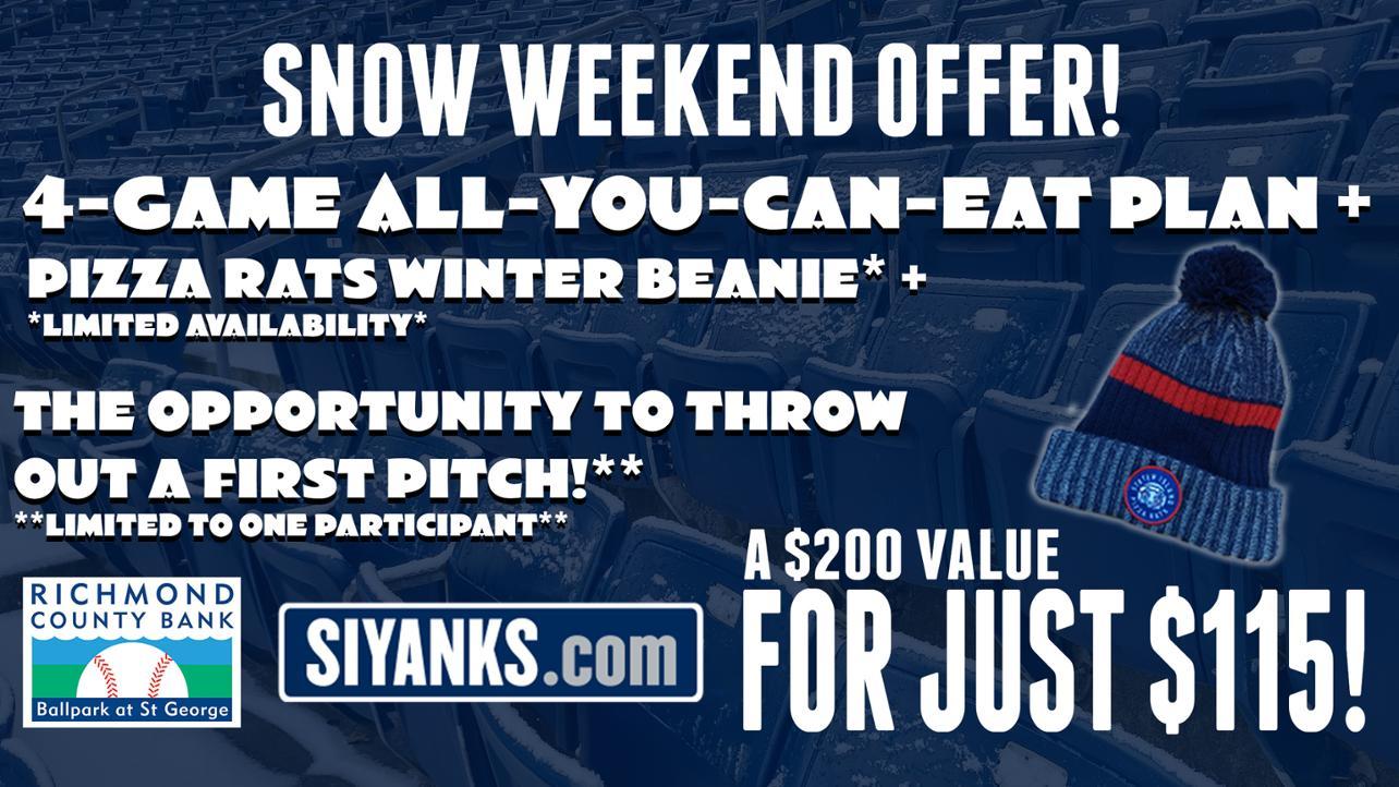 Snow Weekend Offer