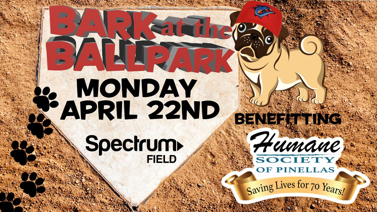 Bark at the Ballpark to Benefit the Humane Society of