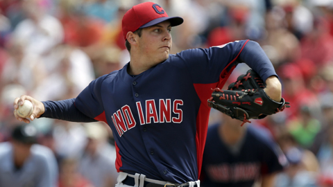 Trevor Bauer went 1-0 with a 4.50 ERA in five games for Cleveland this spring.