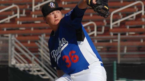 Garrett Gould compiled a 5.75 ERA at Rancho Cucamonga last season.