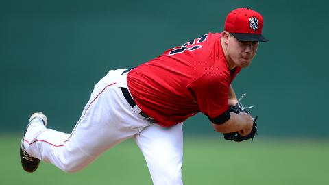 Trevor May is 9-9 with a 4.48 ERA in 26 starts for Double-A New Britain.