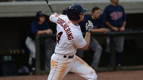 Bobby Borchering hit five homers in 48 games for Quad Cities.