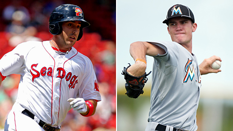 Travis Shaw (Red Sox) hit .538 and Andrew Heaney (Marlins) fired a pair of dominant starts last week.