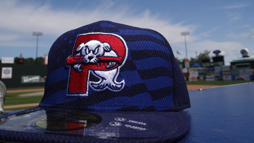 412338f7cbb3c Sea Dogs to Wear Stars and Stripes Caps Friday