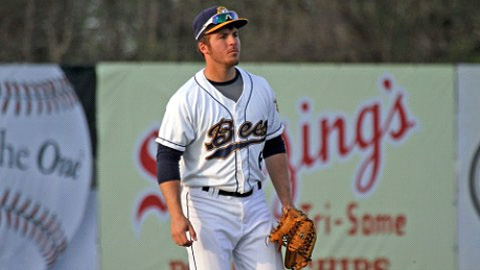 Andrew Ray has eight extra-base hits in his last six games for the Bees.
