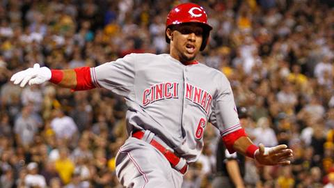 Billy Hamilton has scored nine runs in 11 games with the Reds.