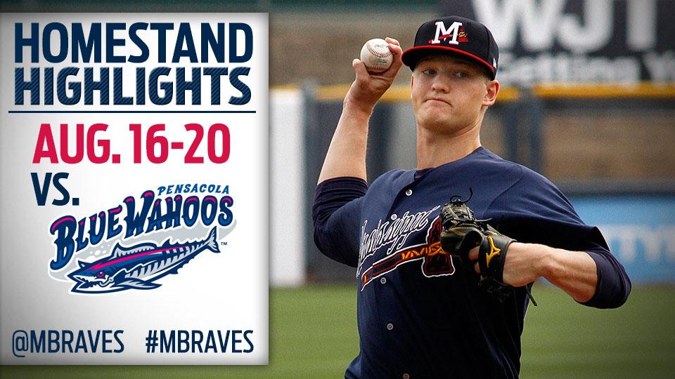 Homestand Highlights August 16-20 | Mississippi Braves News