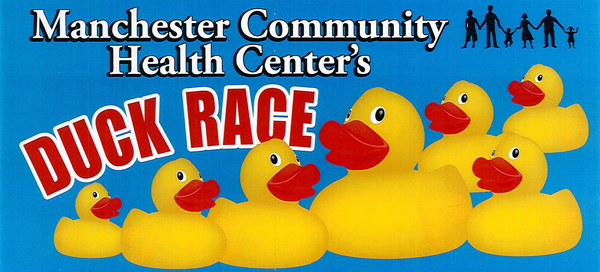 Manchester Community Health Center's Duck Race