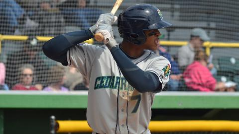 Byron Buxton leads the Midwest League with a 1.023 OPS.