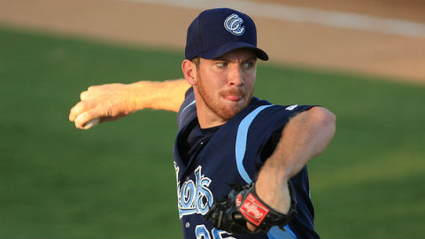 Matt Heidenreich has not allowed a run in his first two AFL starts.