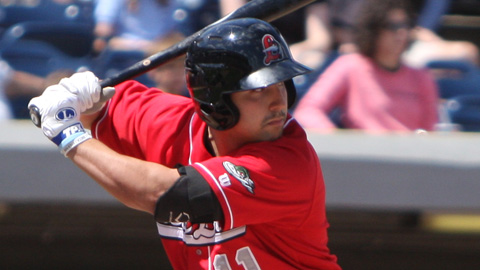 Tyler Ogle hit .340 across four Minor League levels last season.