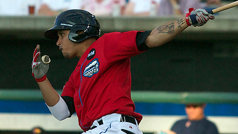 Pedro Lopez was one of two Triple-A players suspended Tuesday.