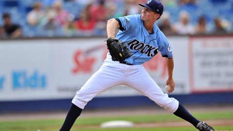 Sam Selman ranks 15th in the Carolina League with 73 strikeouts.