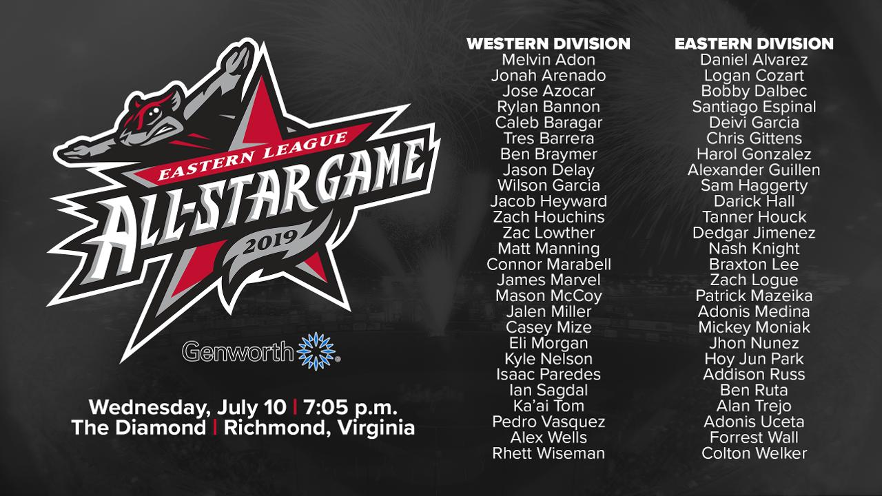 2019 Eastern League All-Star Game Rosters Announced | Flying ...