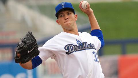 Tyler Anderson's 2.08 ERA is the best in the Texas League by more than half a run.