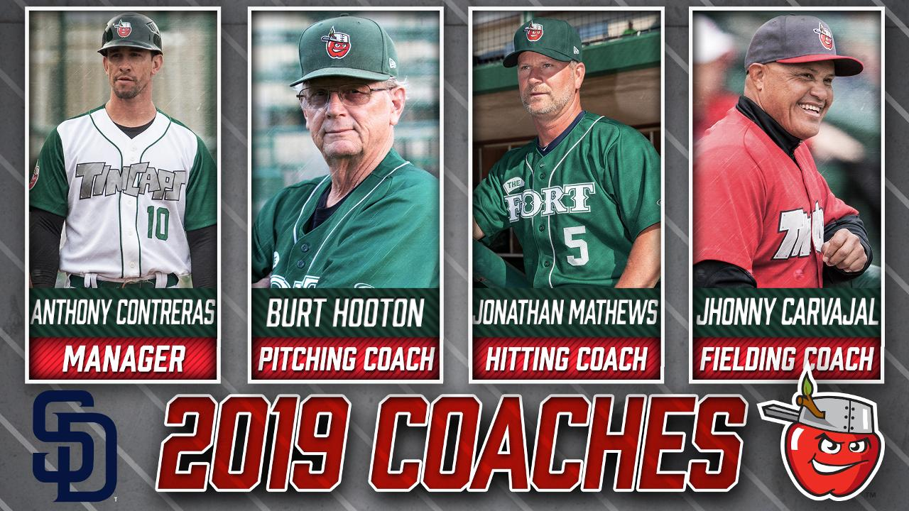 Padres Announce 2019 TinCaps Coaching Staff | Fort Wayne