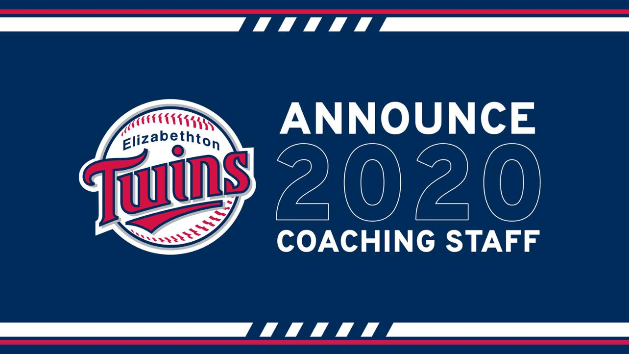 Twins 2020 Coaching Staff media wall