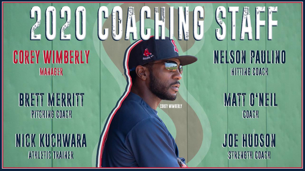 Salem Announces 2020 Coaching Staff