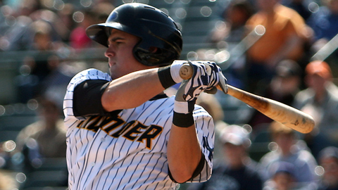 Tyler Austin drove in seven runs for Class A Charleston on April 28, 2012.