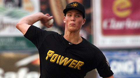 Tyler Glasnow held South Atlantic League foes to a .142 batting average.