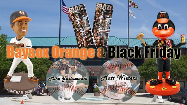 baysox celebrate orange black friday bowie baysox news. Black Bedroom Furniture Sets. Home Design Ideas