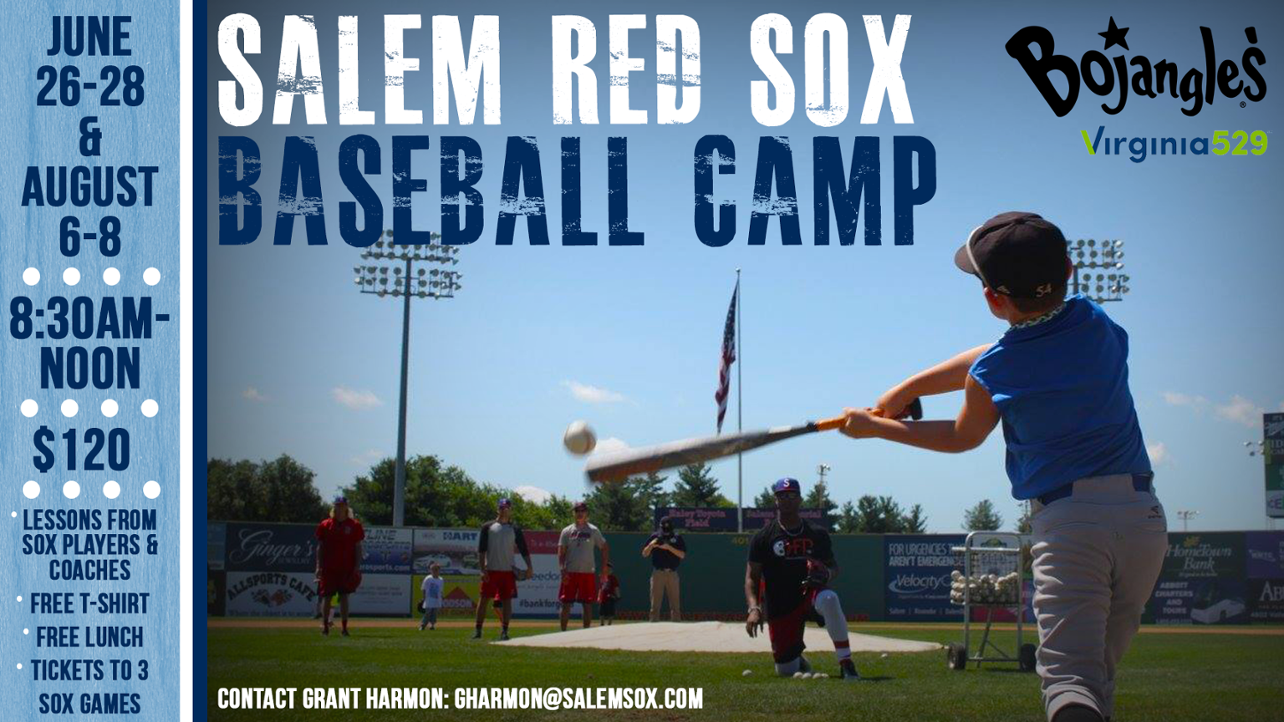 Sign Up for Baseball Camp!
