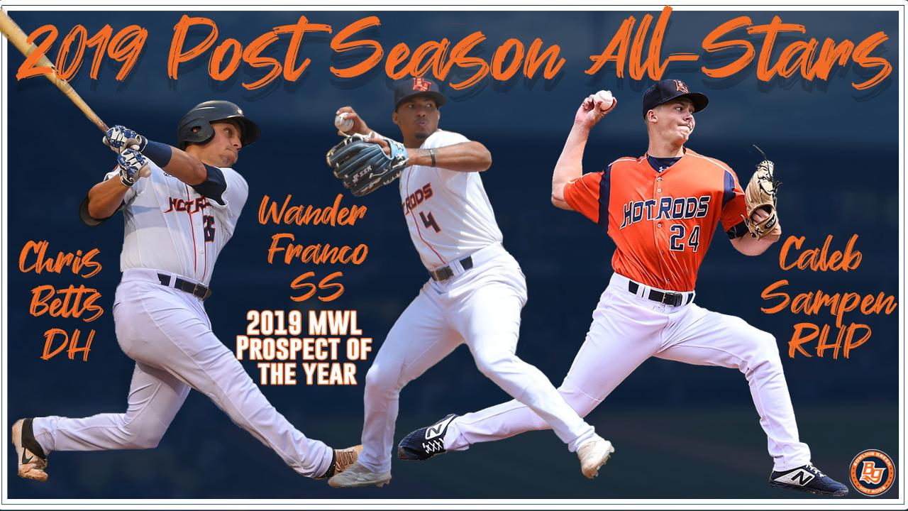 super popular ab0d2 303f5 Franco, Sampen, Betts Named to Midwest League Post-Season ...