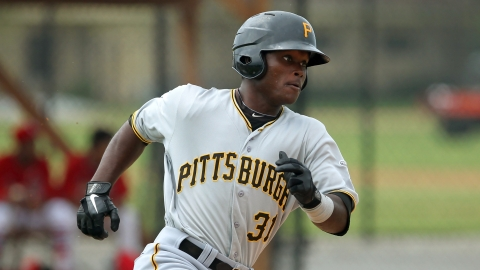 Dilson Herrera fell a single shy of the cycle in Game 1 of the GCL Finals.