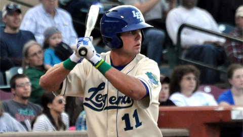 Bubba Starling improved his batting average 19 points to .213.