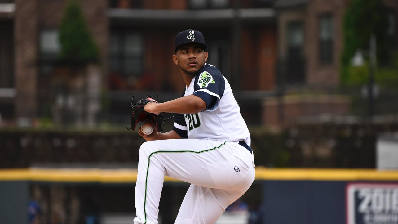 Stripers' Ynoa tries to keep Bats quiet