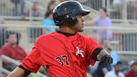 Micah Johnson has an .814 OPS in 27 games for Kannapolis this year.