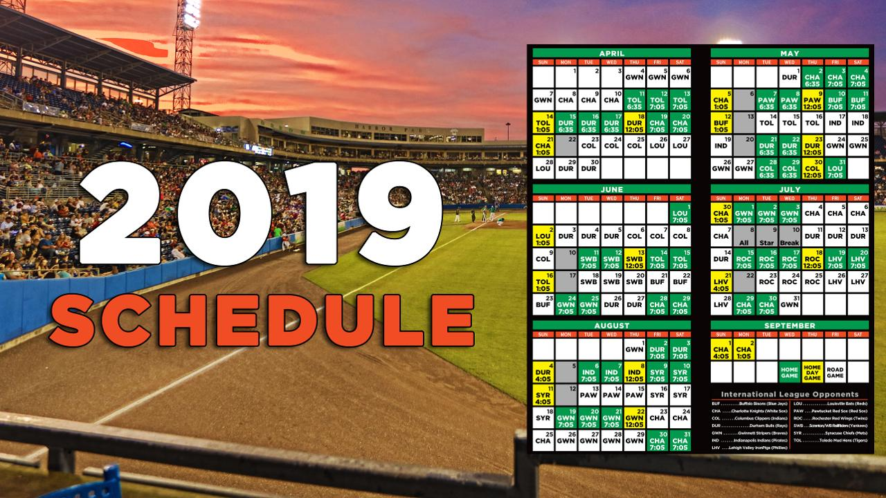 Tides Announce 2019 Schedule Norfolk Tides News