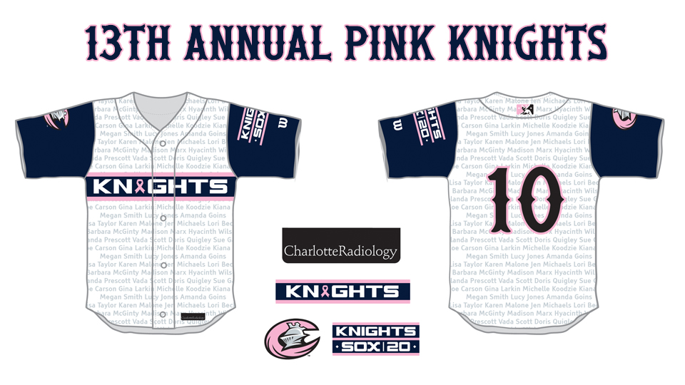 13th Annual Pink Knights Game Set For May 12th Charlotte Knights News
