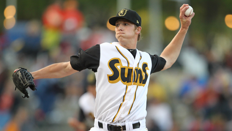 Adam Conley has a 30-8 strikeout-to-walk ratio over 32 innings in seven starts.