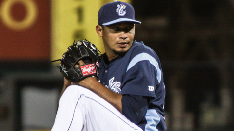 David Martinez is among the Texas League leaders in wins, ERA and WHIP.