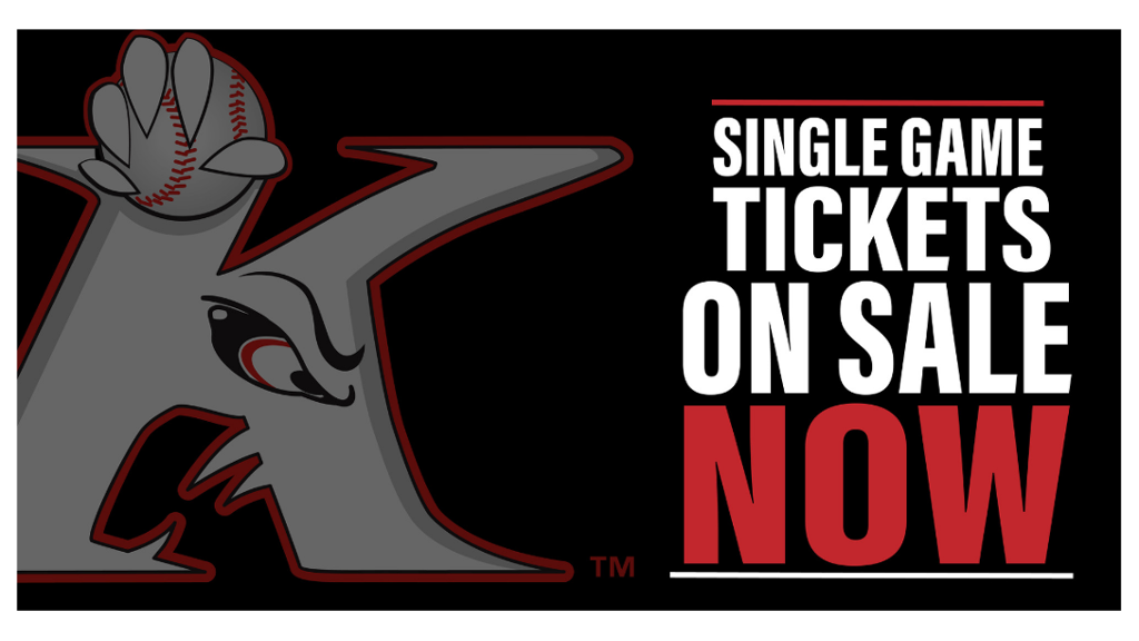 2019 Single Game Tickets On Sale NOW!