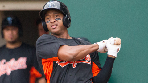 Jonathan Schoop hit 14 Minor League home runs in 2013.