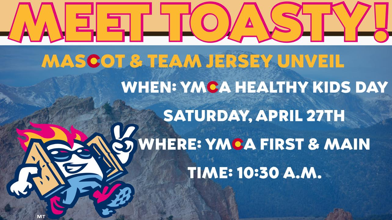 VIBES TO UNVEIL NEW MASCOT & JERSEYS AT YMCA'S HEALTHY KIDS DAY