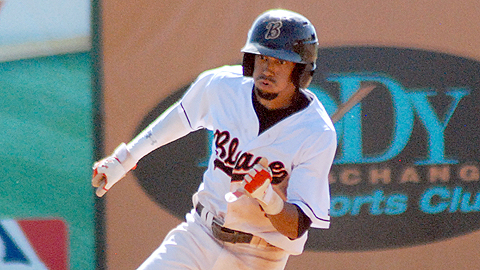 Reds prospect Billy Hamilton set a Minor League record with 155 stolen bases.