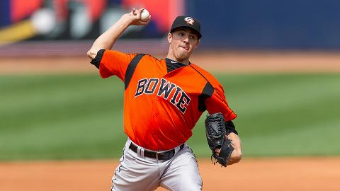 Bowie's Kevin Gausman has struck out 49 batters in 46 1/3 innings.
