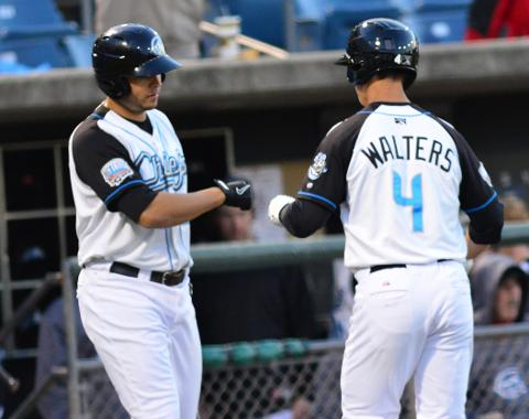Zach Walters hit his team leading 11th home run on Sunday.