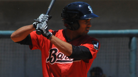 Marcus Semien leads the Southern League with a .410 OBP.