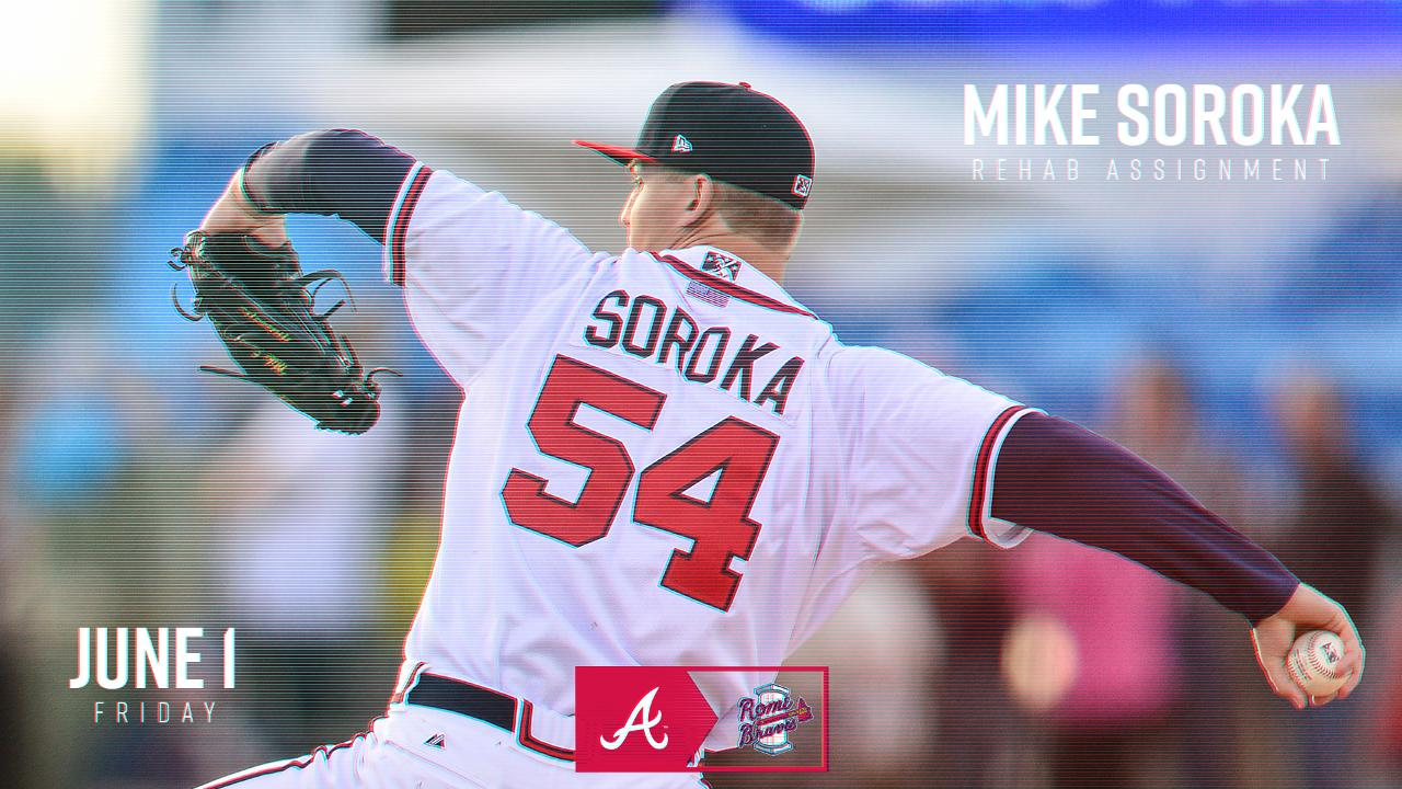 mike soroka to pitch in rome friday | rome braves news