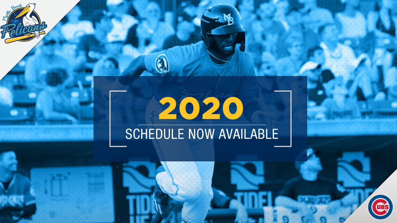 2020 Schedule Unveiled