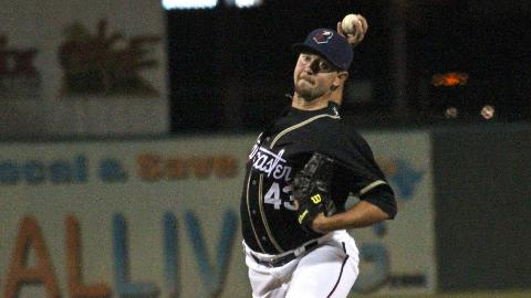 Brady Rodgers tossed four scoreless on Thursday to lower his ERA to 5.06.