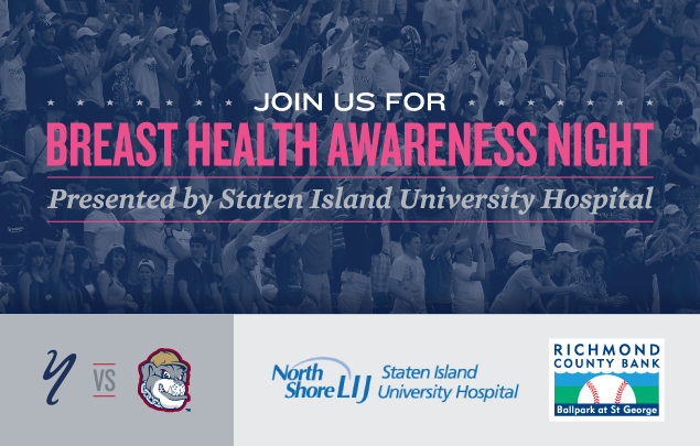 Join Us for Breast Health Awareness Night Presented by Staten Island University Hospital