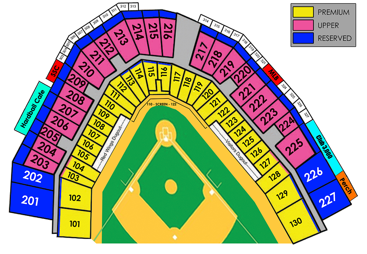 Seating Chart Rochester Red Wings Content