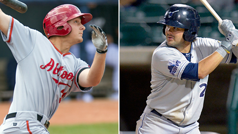 Alex Dickerson heads to the Padres, while fellow 23-year-old outfielder Jaff Decker becomes a Pirate.